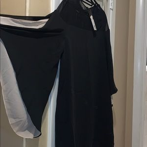 Black Halston  Dress S12